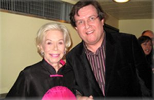 Nick with Louise Hay, author of You Can Heal Your Life
