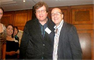 With Paul McKenna, NLP training course